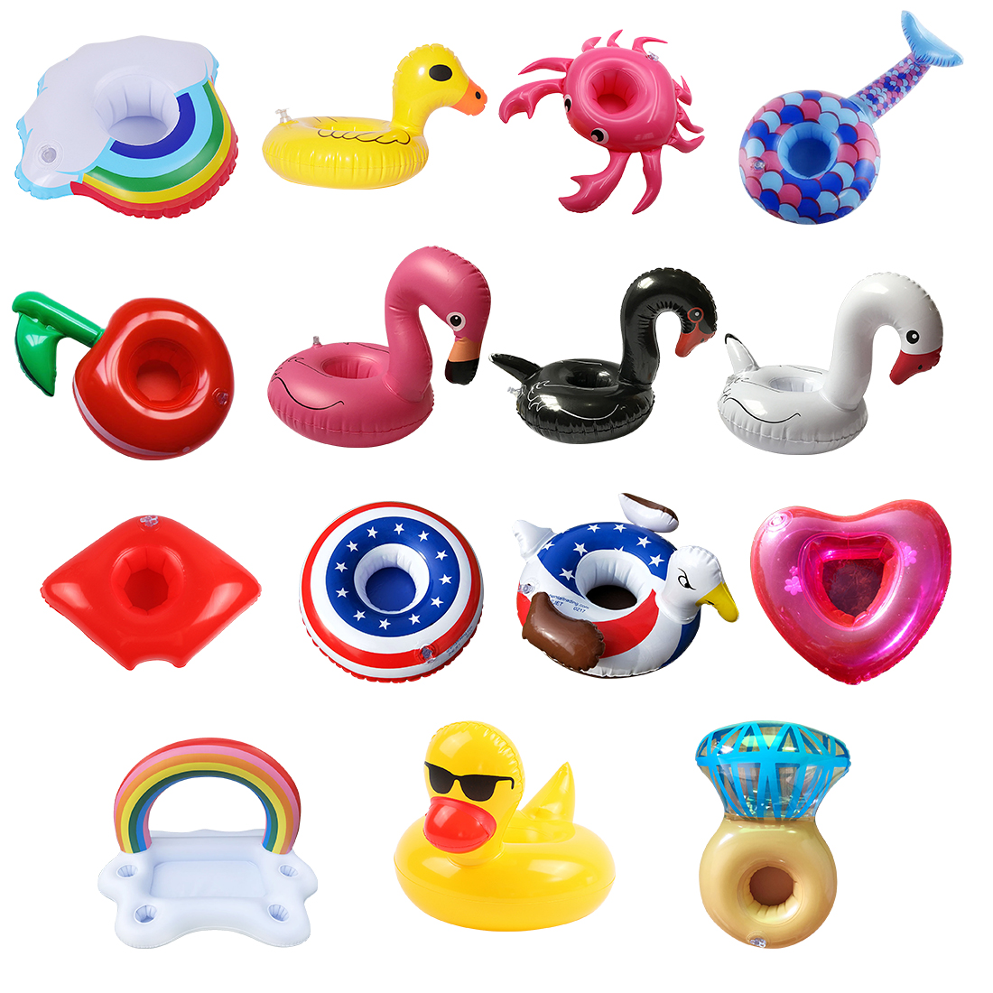 Hot New Inflatable Zwembad Table Bar Tray Swimming Pool Float Cup Drink Beer Holder Summer Swimming Party Toys Beach Accessories