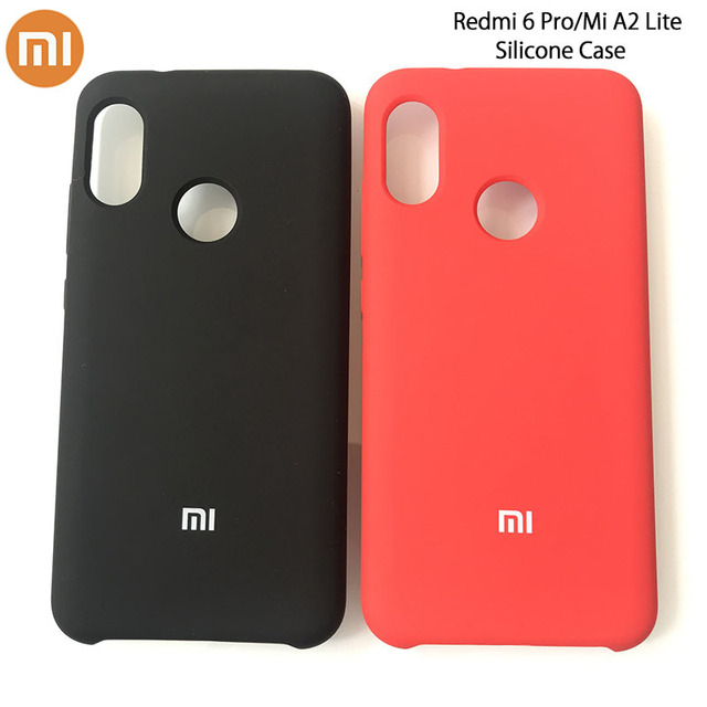 the best attitude 25333 919ef US $4.79 |Original XiaoMi Redmi 6 Pro Liquid Silicone Case Silky Soft Touch  Finish Protective Cover For Xiaomi A2 Lite 5.84Inch-in Fitted Cases from ...