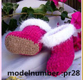 crochet infant bootie,winter shoe for first walk baby
