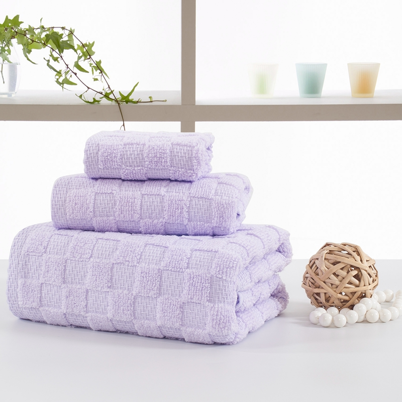 2017 3pcs lot towel set 100 cotton soft face bath towels light purple blue. Online Get Cheap Purple Bath Towels  Aliexpress com   Alibaba Group