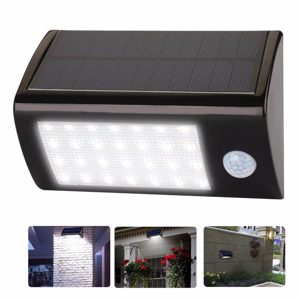 28 Led Solar Lights Motion Sensor Outdoor Light Waterproof