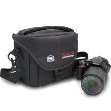 Fosoto фотокамеры нейлон случай фото видео фотографии должны сумки для Canon Nikon D3300 Sony Pentax Samsung Panasonic DSLR камеры