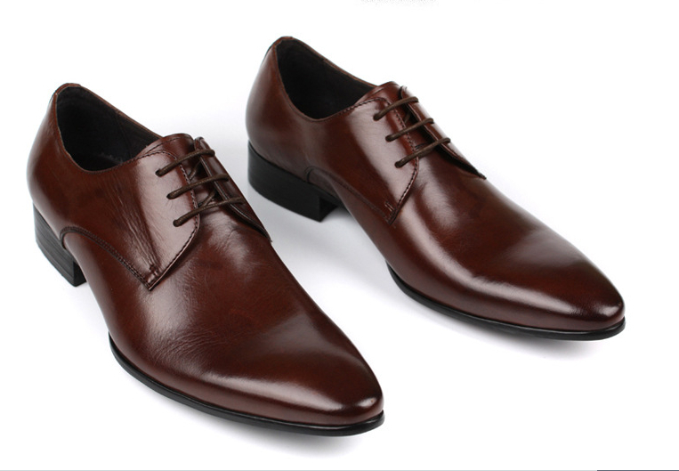 Men S Reddish Brown Dress Shoes Size
