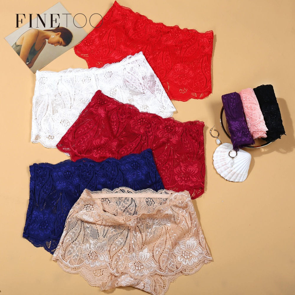 8 Colors Lace   Panty   3Pcs/lot Sexy Underwear Women   Panties   Free Size Lingerie Femenina Boyshort Women Fashion Mid-Rise   Panties