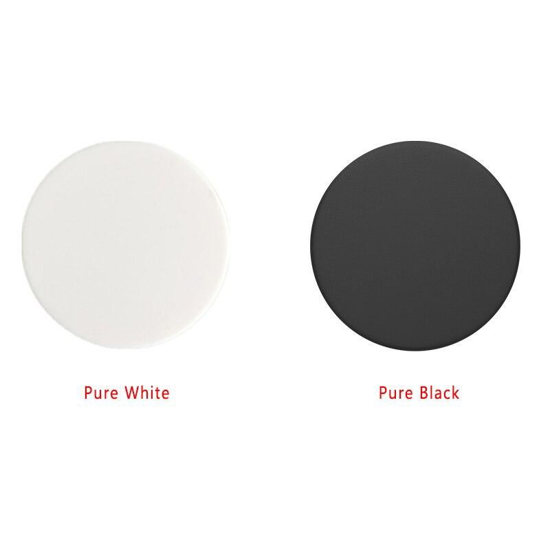 Pure Color White VS Black Phone Holder Pocket Socket Without Design Phone Stand Finger Ring Smartphone попсокет
