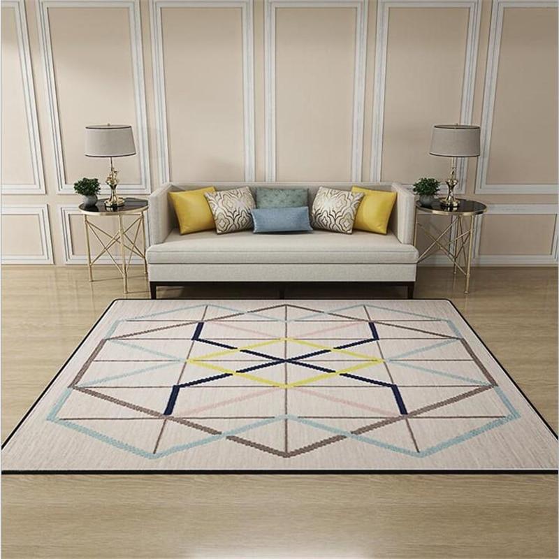 2018 Hot Sale Nordic Style Orignal Design Large Carpets For Living