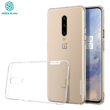 For OnePlus 7 Pro Case Nillkin Nature Transparent Clear Soft Silicon TPU Phone Protector Cover for OnePlus7 Pro Back Cover