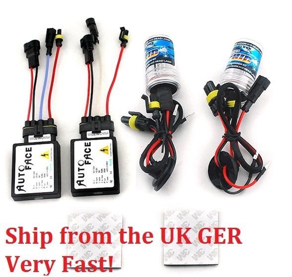 XENON HID KIT 35W 12V 813B Ballast HID KITS Single Beams H1 H3 LH4 H7 H8/H9/H11 9006 Color 4300k 6000k 10000k Ship from UK GER