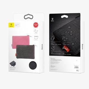 Image 5 - Baseus נייד נייד טלפון תיק עבור iPhone X 8 7 6 Xiaomi סמסונג בד בד אחסון חבילה פאוץ טלפון אבזרים תיק מקרה