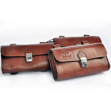Bike Saddle Bag Bicycle Bags Tail Bag HQ Vintage Back Seat Tail Pouch Personalized Riding
