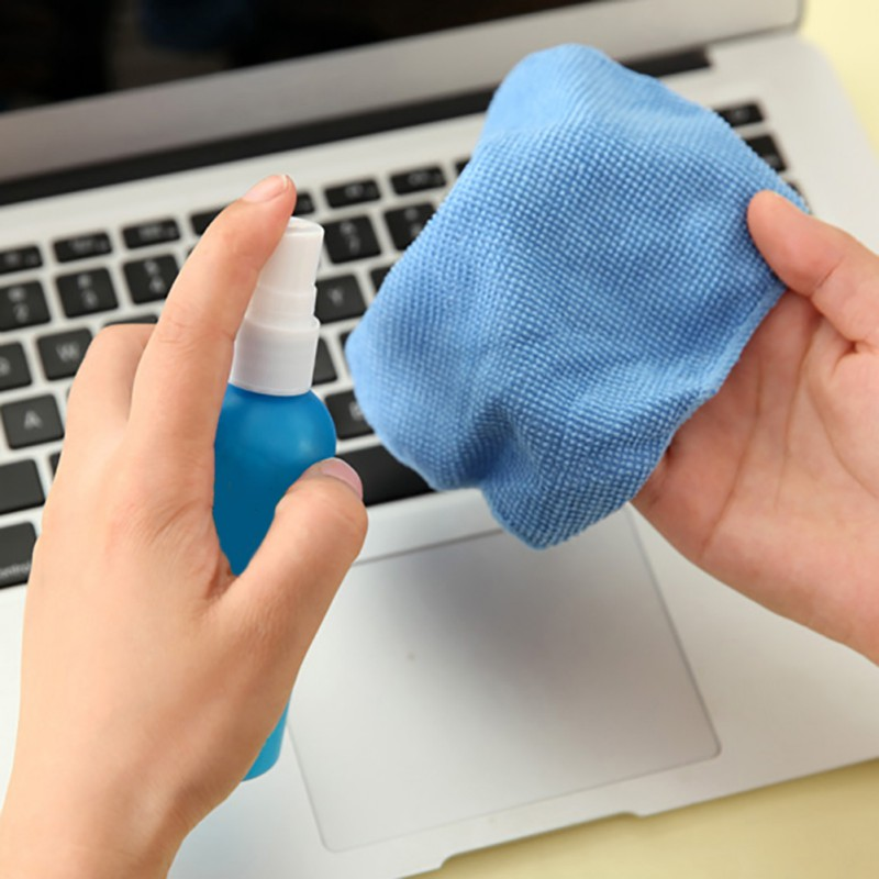 3 In 1 Magical Laptop Computer LCD LED Monitor TV Cleaner Plasma Screen Cleaning Cloth Brush Kits For Macbook Pro Screen