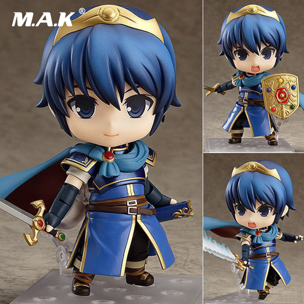 10CM PVC Fire Emblem Marth Action Figures Toys Nendoroid Kids Dolls Cosplay Brinquedos Gifts Dolls 21cm action hatsune miku figure toys pvc kids toys juguetes 6 japan anime figures nendoroid brinquedos kids toys ss0045