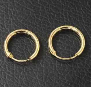 كوريا الجنوبية مجوهرات أقراط عشاق دائرة حلَق أذن أقراط للنساء و خواتم الأقراط الإناث الهيب هوب هوب أقراط