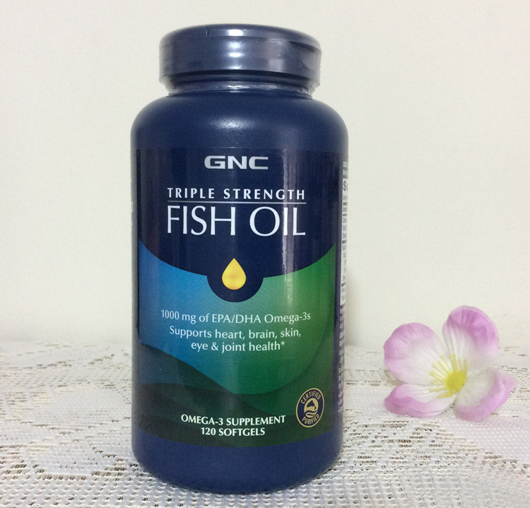 FLSH Oil 1000 mg of EPA/DHA Omega-3s supports heart,brain,skin,eye & joint health 120 pcs natrol heart health coenzyme q 10 50 mg 60 capsules single item