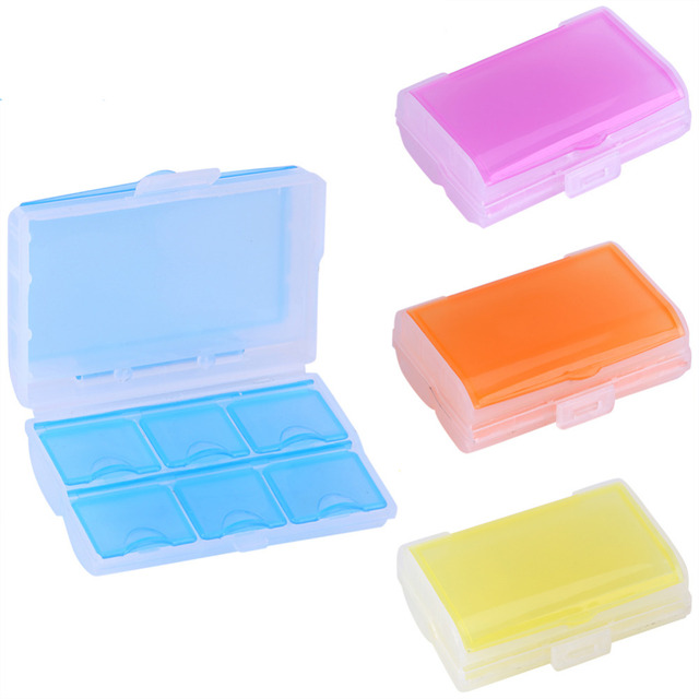 Beautiful 2 Layer Pill Box Eyelash Tablet Medicine Jewel Vitamin Home Travel Storage  Box Case Container