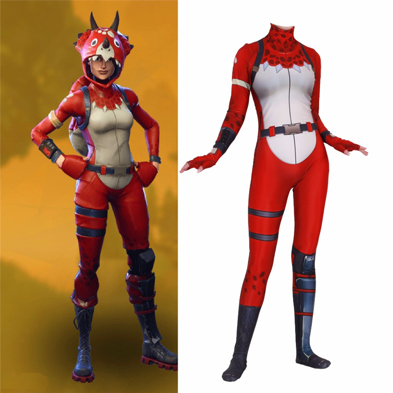 Hot Game Women Cosplay Costume Tricera Ops Spandex Zentai Jumpsuits Bodysuit Party Suits Gift Collection Drop Shipping