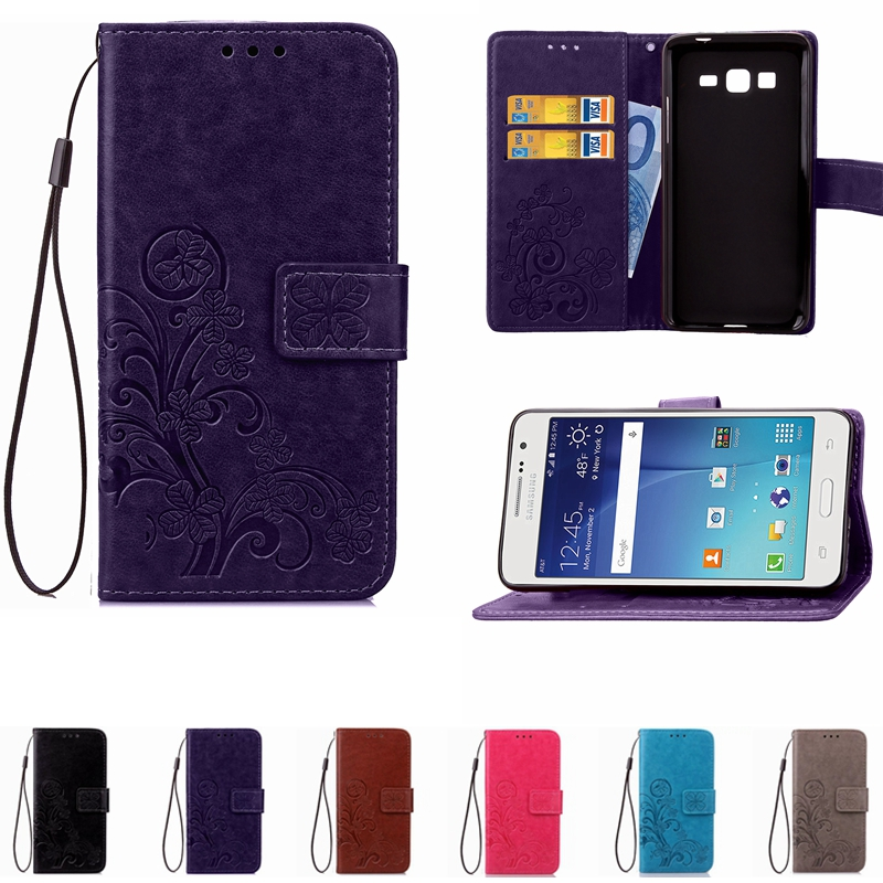 Leather Phone Case Wallet Cover For Samsung Galaxy J2 J5 J7 Prime A3 A5 2017 J3 J5 J7 2016 S3 S4 S5 Mini S6 S7 S8 Edge Plus Case