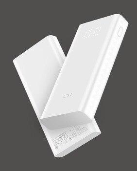 Original ZMI Power Bank 20000mAh QB821 Digital Display QC3.0 Fast Charging Dual USB 20000 mAh Powerbank for Smartphone 20000 mah power bank portable charger dual usb fast charge