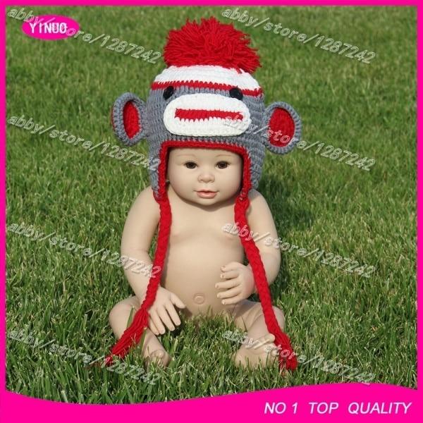 Wholesale Crochet Summer Beanie Newborn Baby Animal Costume Crochet