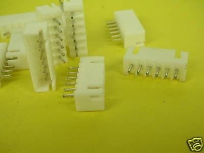 JST Тип 6pin Мужской печатной платы Панель Батарея разъем jt6 1000