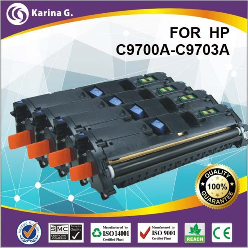 remanufactued colour laser toner cartridge for hp q9700a q9701a q9702a q9703a for HP Laserjet 1500/2500 Color Series compatible black toner laserjet printer laser cartridge for hp c7115a 7115a 15a 1000 1220 3330 3300 1005 1200 3380 2500pages