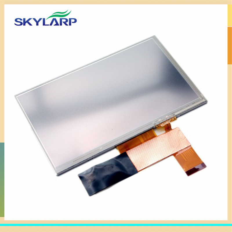 skylarpu 7 inch LCD screen for CLAA070LF06CW TFT display panel Module with touch digitizer glass original 7 inch 163 97mm hd 1024 600 lcd for cube u25gt tablet pc lcd screen display panel glass free shipping