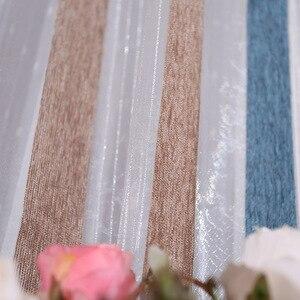 Image 5 - Cortinas romanas de calidad, cortinas, pantallas verticales, sala de estar, rayas plateadas, pantallas plateadas, cortinas de jacquard teñidas con hilo