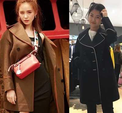 معطف صوف نسائي خريفي وشتوي 2017 حديث الطراز الكوري بتصميم ضيق من الجيش الكحلي والأخضر معطف خارجي من الصوف للنساء D87