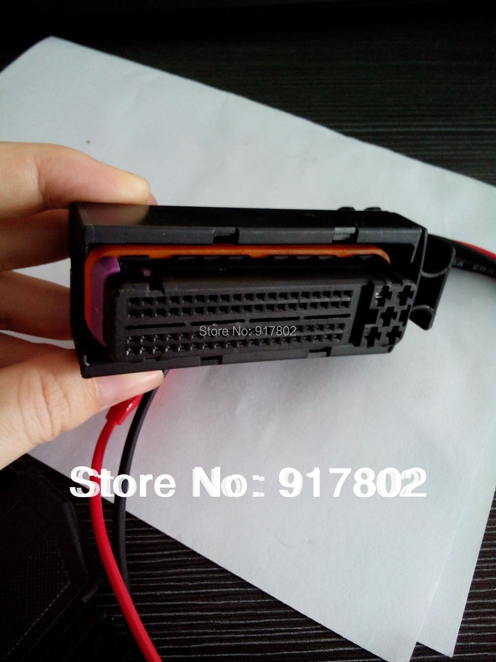 Hot Sale] Free shipping Car OBDII Cable for VW, 81 PIN ECU