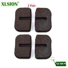 XLSION 2 pair Disc Brake Shoe Pads For 47cc 49cc Gas Minimoto Pocket Bike Mini Dirt Bike Scooter Baby Kid Crosser