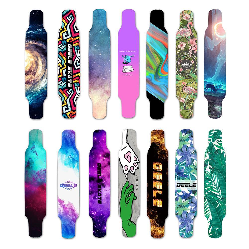 120*25cm Long Skateboard Sandpaper Scooter Sticker Wear Resistant Sand Sticker Skateboard Decoration Sticker Riding Accessories
