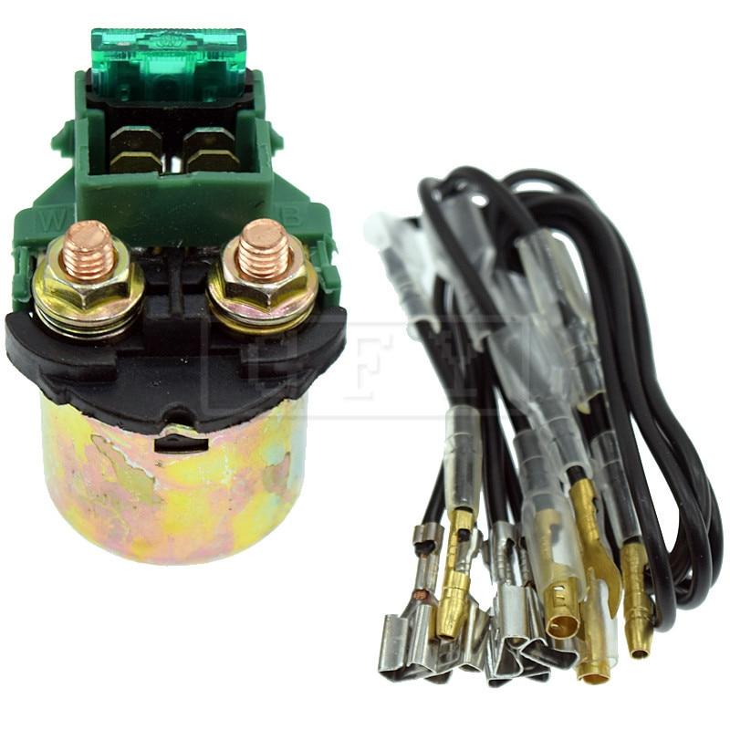 For Honda ATC200X 1983 1984 1985 1986 1987 ATC250R 1981 1982 1983-1986 12V Starter Solenoid Lgnition Key Switch Starting Relay