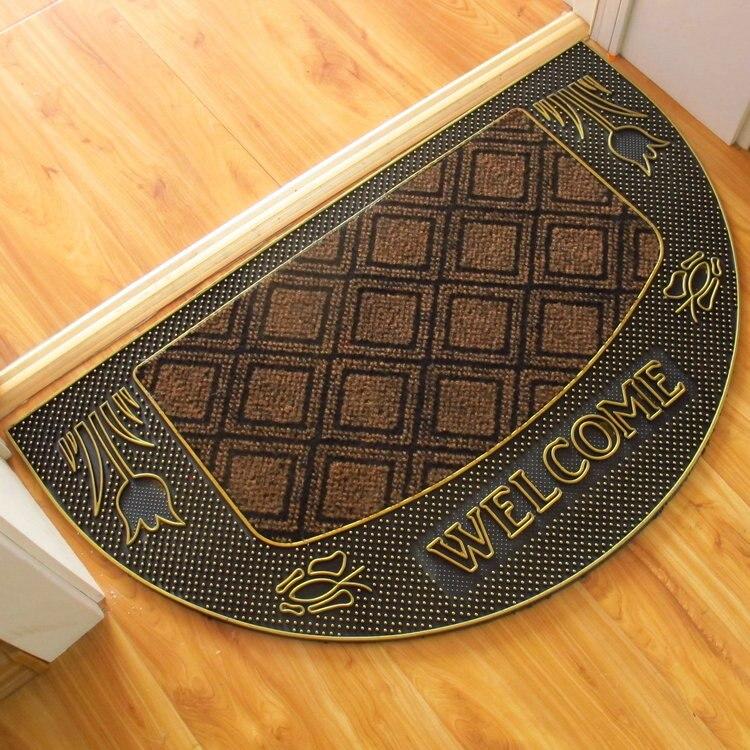 Vente directe de haute qualité noble luxe classique rose tapis en caoutchouc usure surface bronzant bord atmosphère classique tapis antidérapant