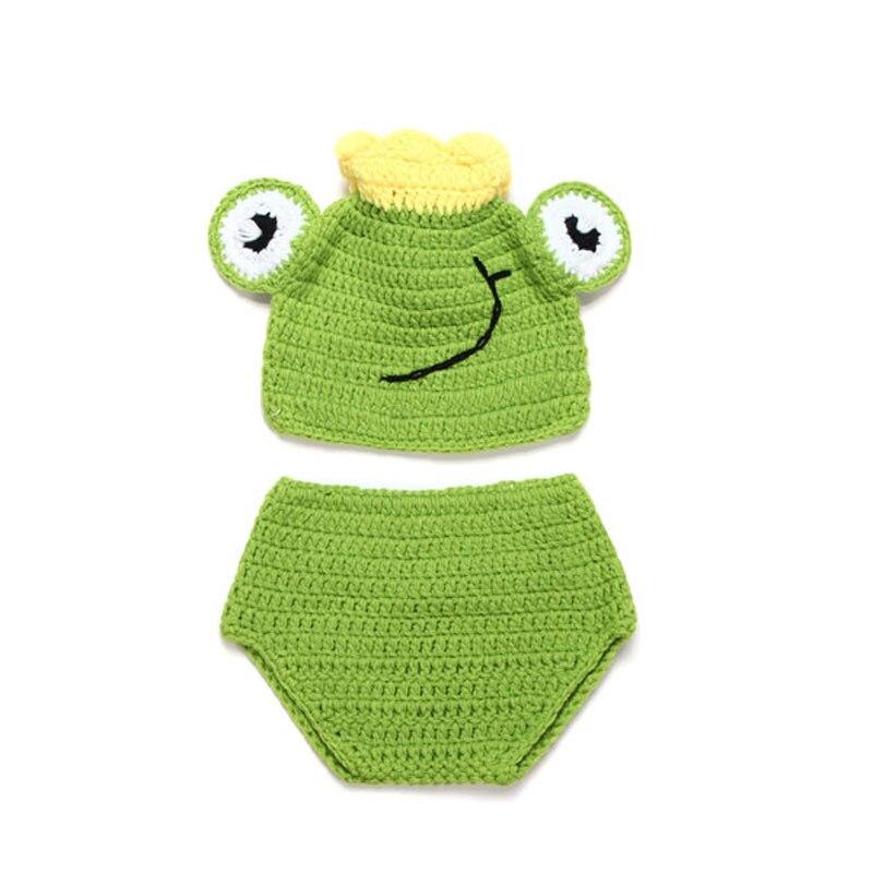 Baby Frosch Hut & Windelabdeckung Set Junge Mädchen Neugeborenen ...