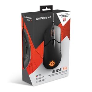 Image 5 - Darmowa wysyłka SteelSeries Sensei 310 przewodowy optyczne myszy do gier światło RGB 12000 mysz DPI dla LOL CF