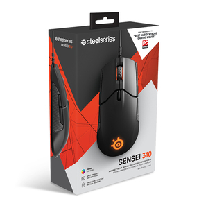 Image 5 - משלוח חינם SteelSeries סנסאי 310 אופטי wired משחקי עכבר RGB אור 12000 DPI עכבר LOL CF