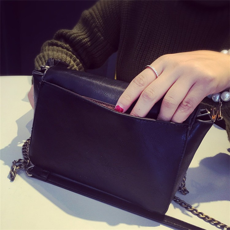 2015 New Fashion Women Bag Leahter Handbags Small Messenger Bolsa Feminina Crossbody Shoulder Bags  Bolsos Famous Brands Lady 4