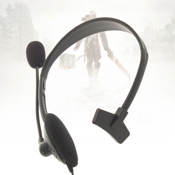 New 1 pc Headset Headphone Earphone with Microphone Mic for Xbox 360 In stock!Just Enjoy Using It!!!