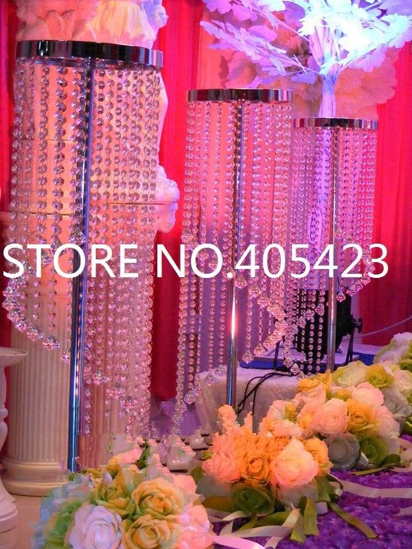 Acryl cristal Centerpiece nunta fundal masă stand partid decorare - Produse pentru sărbători și petreceri