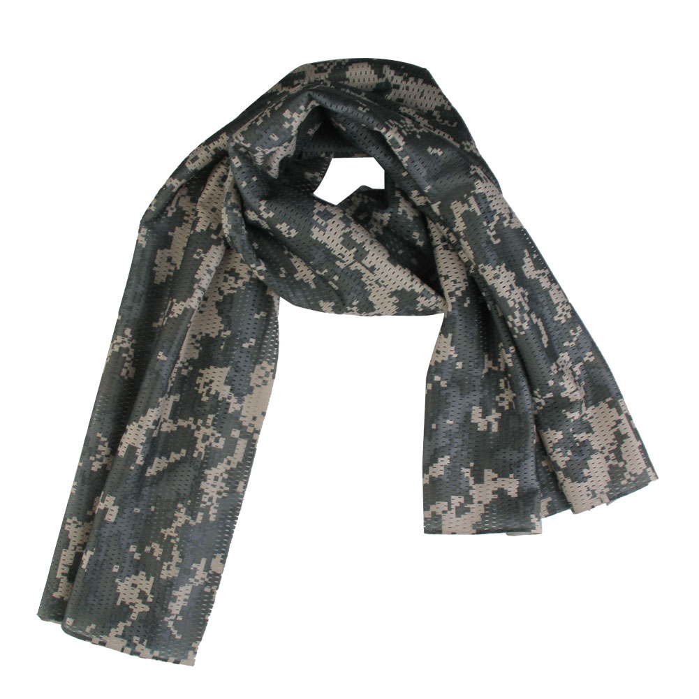 Scarf Muffler Camo Headband New-Fashion Adult Men Jungle Mesh Tactical-Lb Breathable