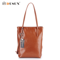 DUSUN Genuine Leather Handbags Women Bag Retro Shoulder Bag 2016 New Women S Large Tote Bags