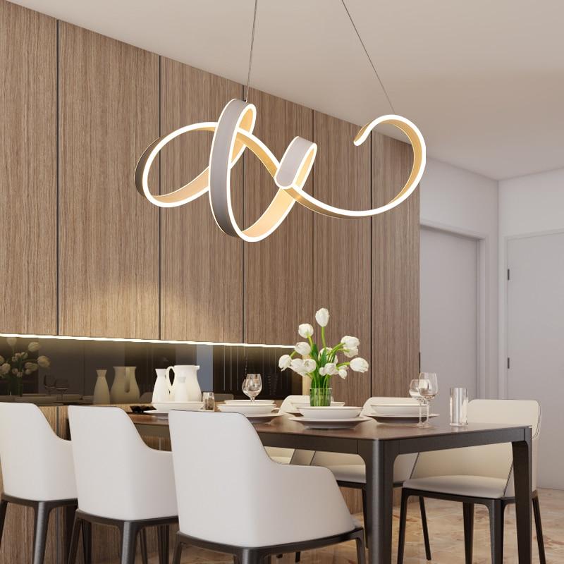 Luces colgantes LED atenuación lámparas colgantes para Comedor Cocina  suspensión luminaria nueva llegada cable moderno lámpara colgante