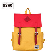 Backpack Women Preppy Style 2017 New Arrival Spring Polyester Lining Hasp Collage High Student Quality School Bag C055-9