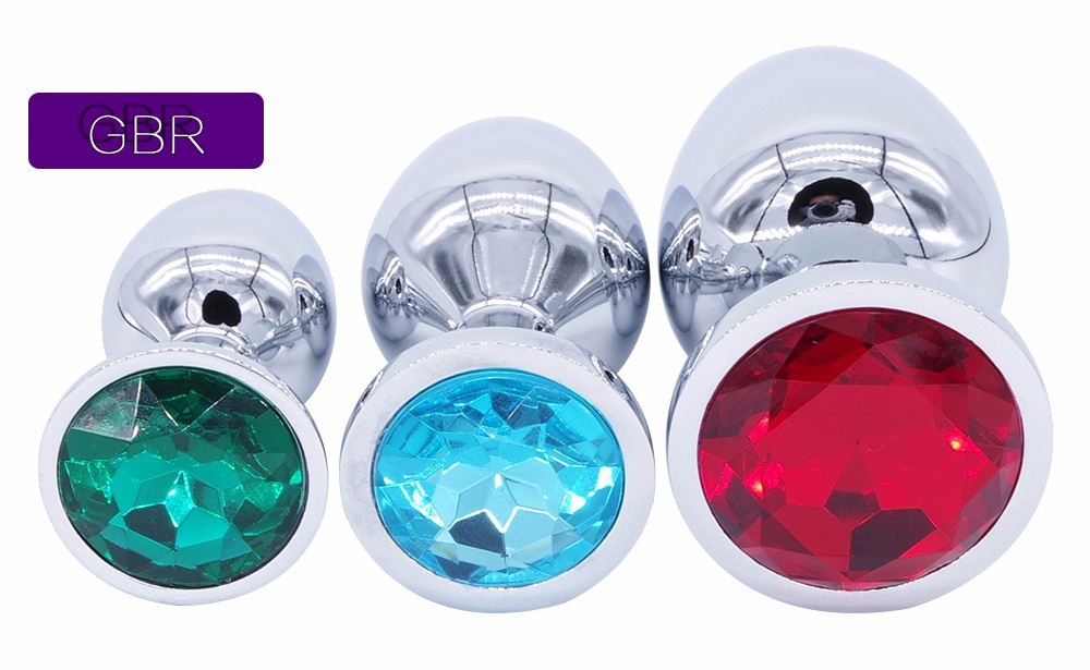 HTB1CHkBOpXXXXXdapXXq6xXFXXXW Bejeweled Stainless Steel Butt Plugs - 3 size Combo Set For Men and Women