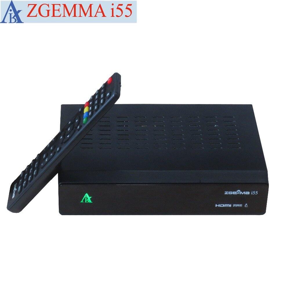 2 pcs/lot Linux IPTV worldwide internet tv box ZGEMMA i55 (without account) compact usb worldwide internet tv radio games mtv movie player dongle black
