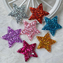 mermaid charms decoration resin sequins fish tail diy pendants jewelry making Hair accessories wholesale lots