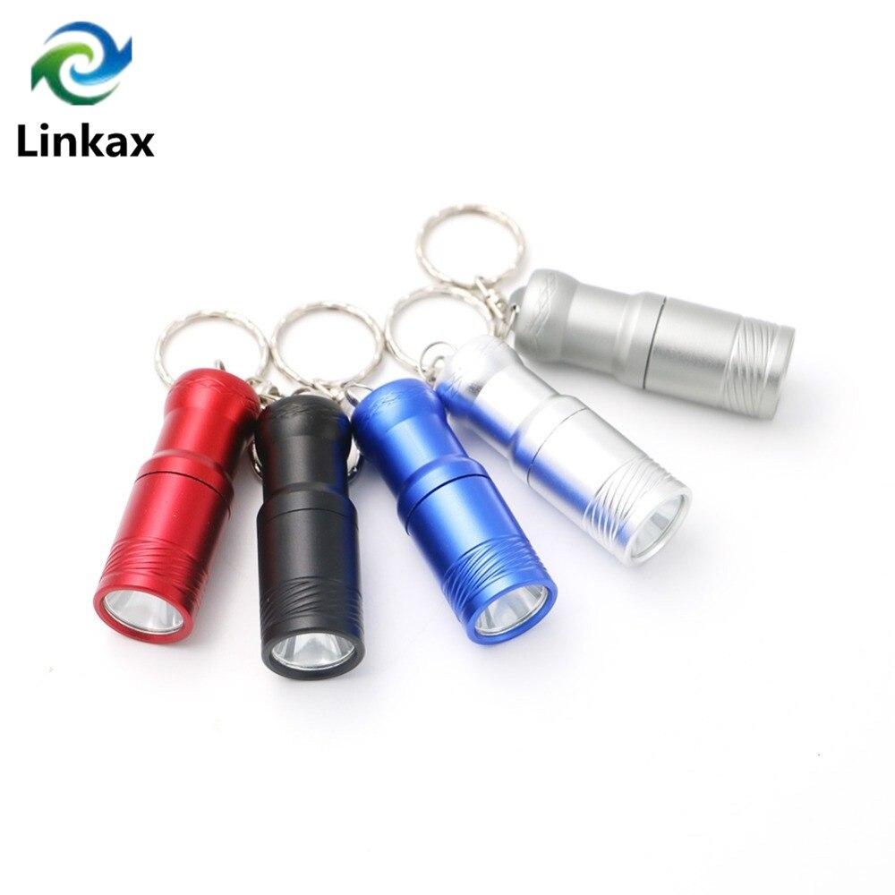 2000 LM Super Bright Mini Flashlight 5 Colors T6 LED 3-mode Portable LED Flashlight Lanternas Mini Keychain Flashlight Torch