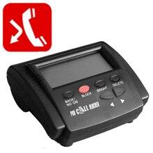 발신자 ID 상자 통화 차단기 중지 불량 전화 장치 전화 번호 LCD 화면 표시 1500 숫자 용량 모든 감기 통화 중지