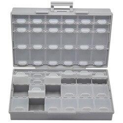 Caja AideTek SMD SMT caja para condensadores organizador superficie montaje electrónica estuches y organizadores Caja de Herramientas plasitc BOXALL48