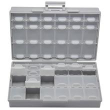Obudowa AideTek SMD SMT kondensator pudełko typu organizer montaż powierzchniowy elektronika pudełka do przechowywania i organizery skrzynka narzędziowa plasitc BOXALL48 tanie tanio Z tworzywa sztucznego 24*15*5